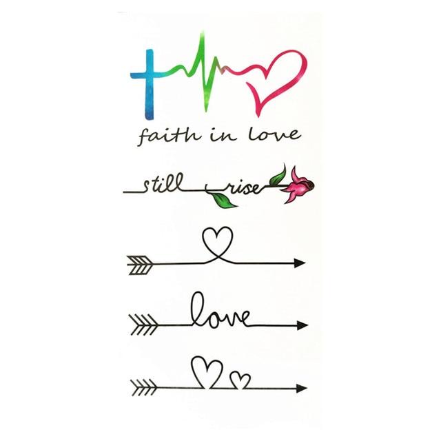 tattoo hoop geloof liefde
