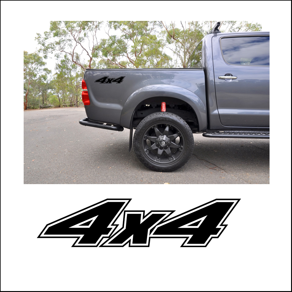 Free Shipping 1pc 4x4 Sticker Decal Vinyl Off Road For Land Rover Chevy Revo Vigo Dmax Adventure Mud In Car Stickers From Automobiles Motorcycles On