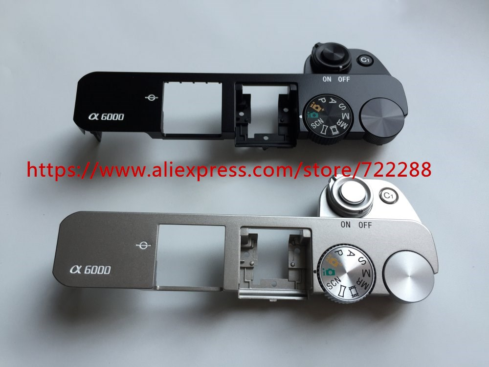 Repair Parts For Sony ILCE-6000 ILCE-6000L A6000 Top Cover Ass'y With Shutter Button Power Switch Function Mode Unit A2044430A