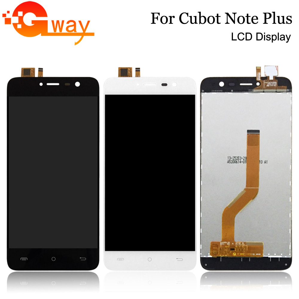FSTGWAY For 5.2 Inch Cubot Note Plus LCD Display+Touch Screen 100% Tested Screen Digitizer Assembly Replacement