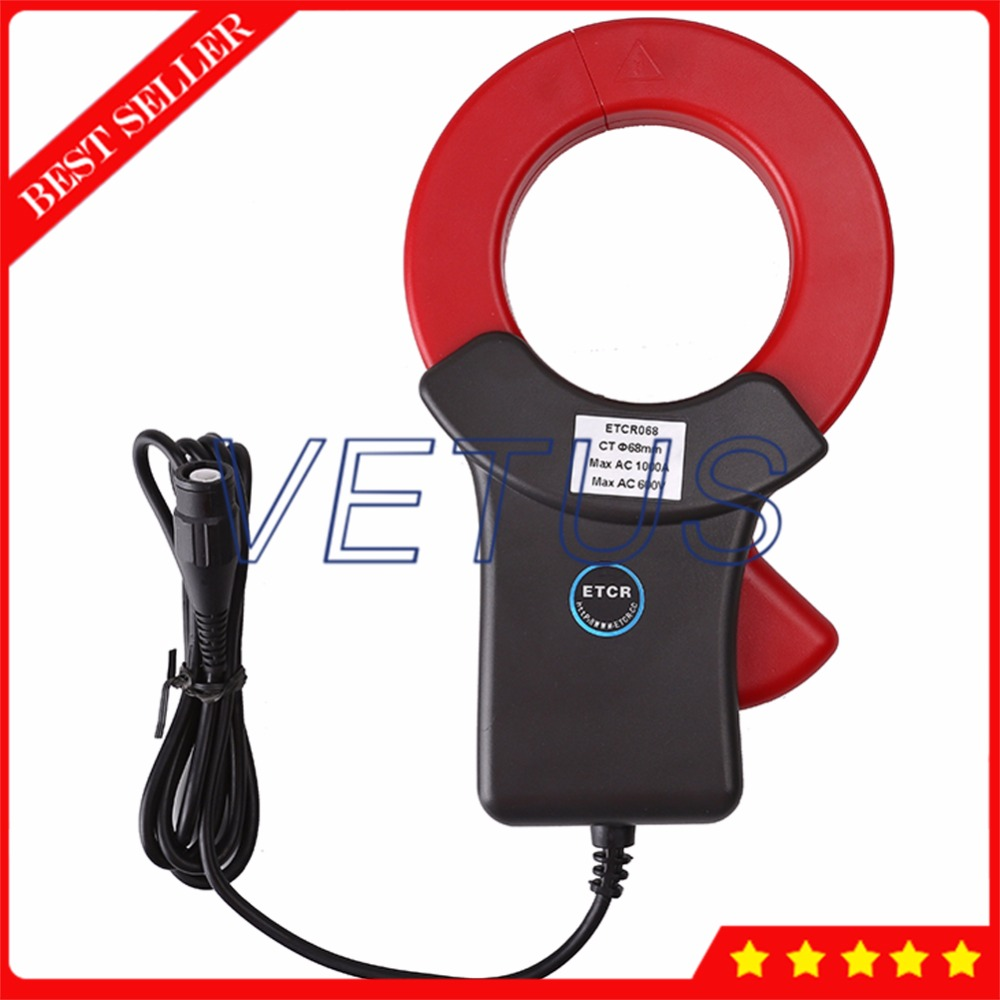 ETCR068 High Accuracy current clamp sensor ct4 22mm energy monitoring sensor clamp