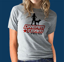 Lurcher Dream Team Dog Obedience HTM Rally O Agility T-Shirt Ideal Gift Harajuku Tops Fashion Classic Unique free shipping