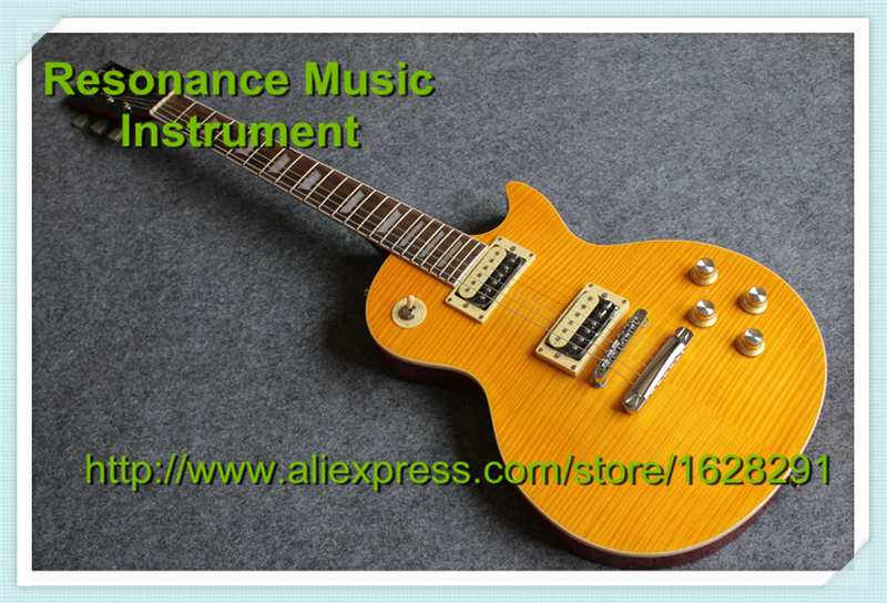 Top Quality Slash Appetite LP Standard Electric Guitar China One Piece Neck & One Piece Body new arrival g lp standard electric guitar one piece neck factory price mahogany body in sunburst 150208