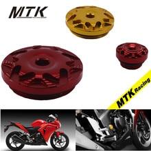 MTKRACING Motorcycle For HONDA ALL Screw Nut Bolt Cap Cover Decoration Motorbike Accessoris Ornamental