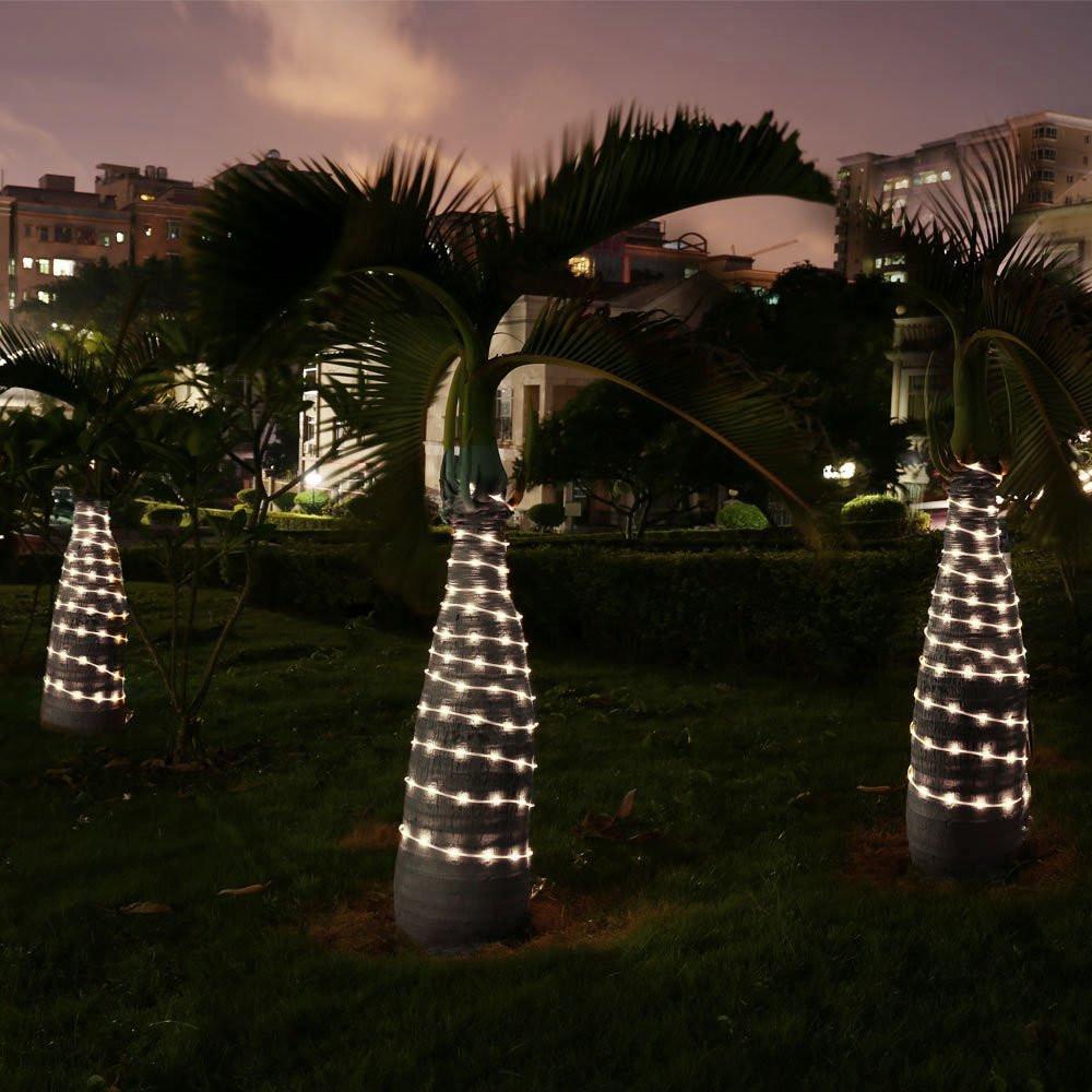 100 LED Solar Rope Lights (4)