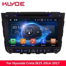 KLYDE 4G Octa Core PX5 Android 8.0 4GB RAM 32GB ROM Car DVD Multimedia Player Radio For Hyundai IX25 Creta 2014 2015 2016 2017