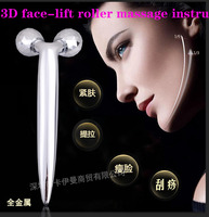 3 D Thin Face Roller Massager Factory Outlet V Face Shape Massager Lift Firming Mini Thin