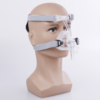 S/M/L Different Size NM2 Nasal Mask Ventilator Mask Sleep Mask With Headgear Suitable For CPAP Machine Connect Hose And Nose