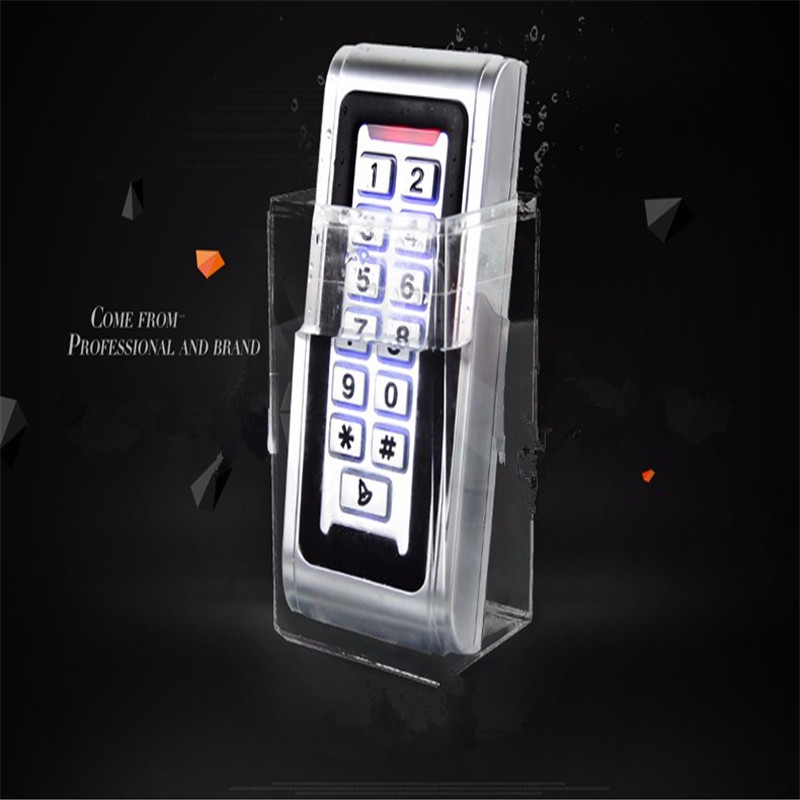 IP68 CIECOO Waterproof Outdoor LED Keypad Backlight Keypad Metal IP65 Waterproof Standalone Access Control Wiegand 26 Reader metal rfid em card reader ip68 waterproof metal standalone door lock access control system with keypad 2000 card users capacity
