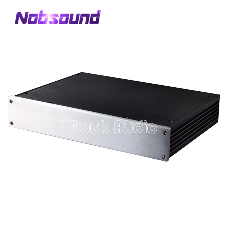 Nobsound Amplifier Enclosure Aluminum Chassis Professional DIY Case HiFi Box