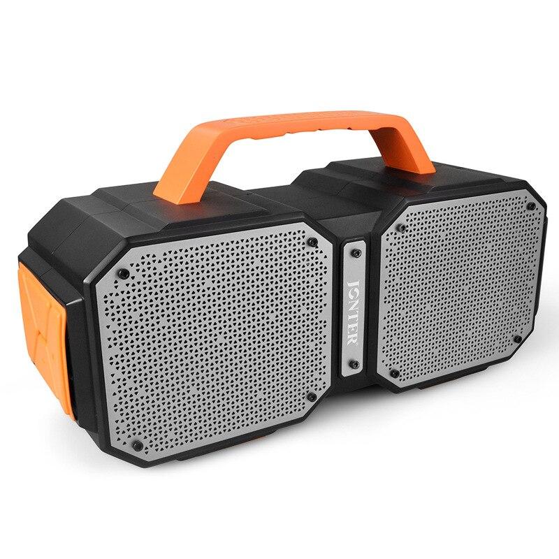 EKOMU barre de son sans fil Bluetooth Surround barre de son pour TV stéréo Home cinéma barres de son basse étanche 40 W 15 m Distance