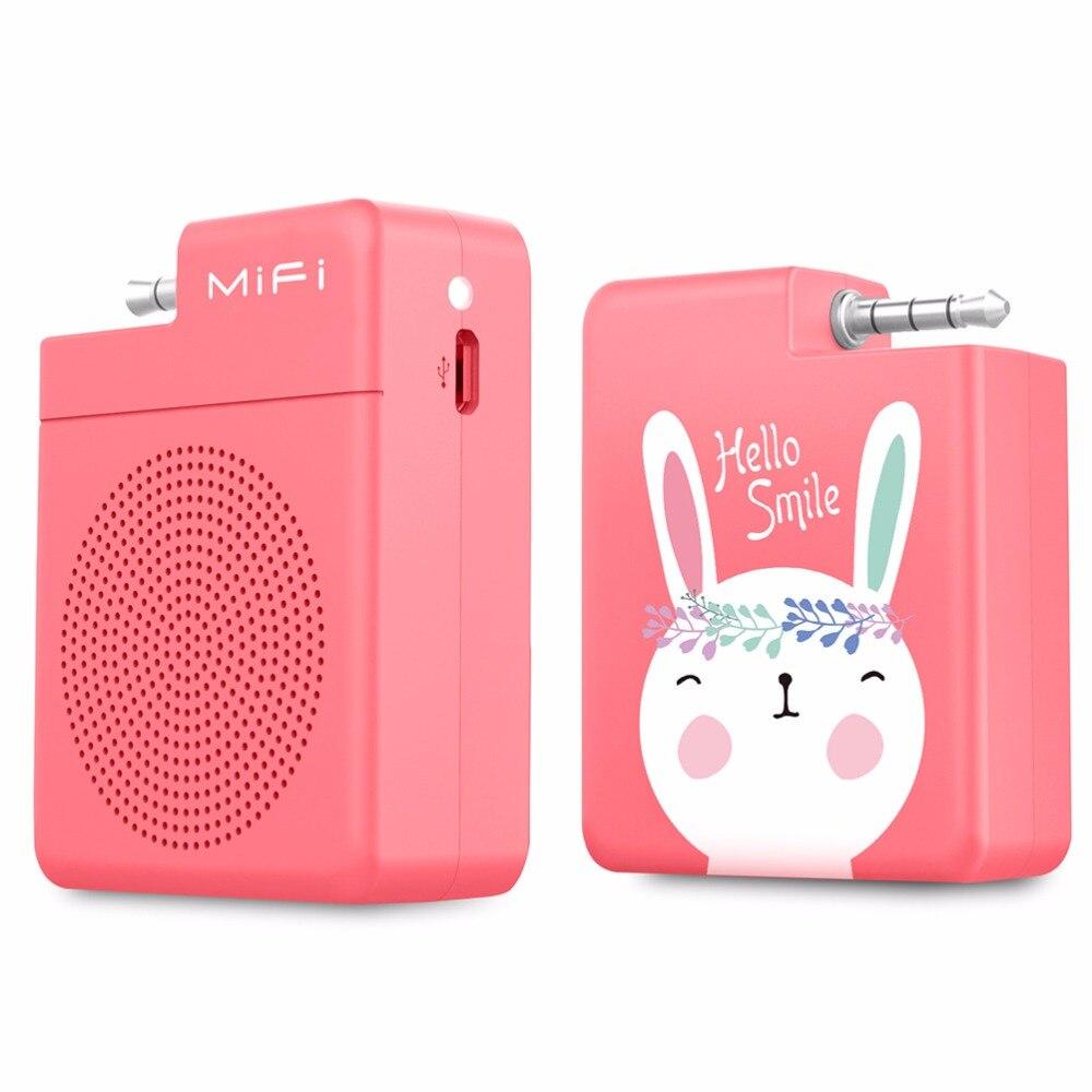 Mifa mifi-i4 Tragbare lautsprecher 3,5mm Audio-stecker Handy Lautsprecher Freisprecheinrichtung Stereo Mini lautsprecher für smartphone
