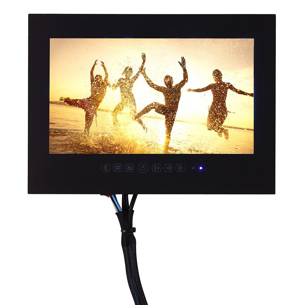 HTB1YBLVjDnI8KJjSszbq6z4KFXaV Souria 22 inch Android 9.0 Smart Glass for Bathroom Digital Waterproof Black Finish Hotel LED TV