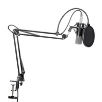Neewer NW 700 Professional Studio Broadcasting Recording Condenser Microphone Kit with Microphone stand and Shock Mount