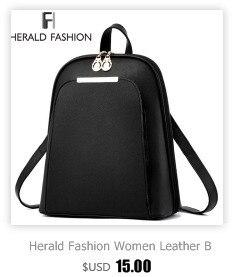 HTB1YBLbbHvpK1RjSZFqq6AXUVXaC Herald Fashion Backpack Women Leisure Back Pack Korean Ladies Knapsack Casual Travel Bags for School Teenage Girls Bagpack