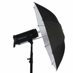"Image 3 - 33""/83cm Studio Umbrella Black & White Rubber Cloth Stainless Steel Photography Reflective Umbrella Photo Studio Accessories"