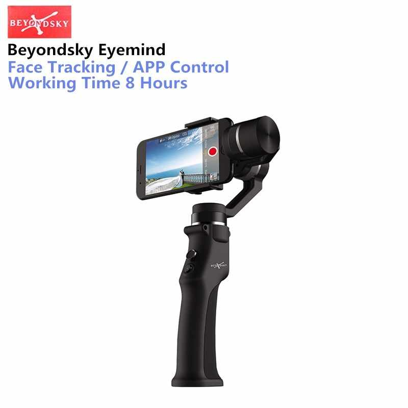 Beyondsky Eyemind الذكي يده Gimbal 3 محور استقرار ل فون 8 X Xiaomi سامسونج عمل كاميرا VS Zhiyun السلس س