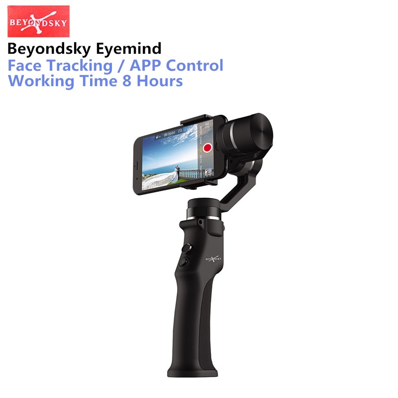 Beyondsky Eyemind Smartphone Handheld Gimbal 3-Axis Stabilizer for iPhone 8 X Xiaomi Samsung Action Camera VS Zhiyun Smooth Q beyondsky eyemind smartphone handheld gimbal 3 axis stabilizer for iphone 8 x xiaomi samsung action camera vs zhiyun smooth q