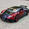 Escala 1:32 Bugatti Veyron coches Diecast Car Model jugetes autos un escala tire hacia atrás juguete cars oyuncak araba kids toys regalos nuevo