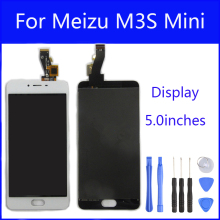 Black/White 5 inch For Meizu M3s mini Y685C Y685Q Y685M / Meizu Meilan 3s LCD Display + Touch Screen Digitizer Assembly
