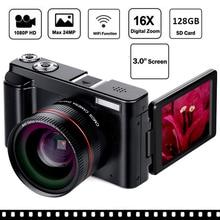 New Wifi Digital Camera 3 Inch Rotatable LCD Screen 16X Digital Zoom 13MP CMOS Camcorders