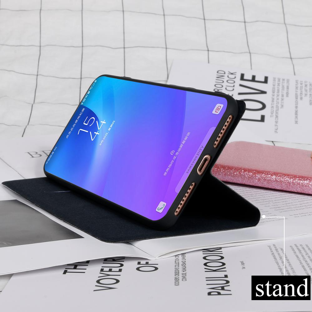 Shining flip case for ASUS ZenFone 5 A500CG Lite ZC600KL fundas Stand capa wallet cover card slots coque for 5z ZS620KL ZE620KL in Flip Cases from Cellphones Telecommunications