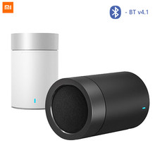 Asli Xiao Mi Mi Speaker Meriam 2 Mi Ni Hands Free Audio Player Portabel Nirkabel Subwoofer Loudspeaker untuk iPhone Android MP3(China)
