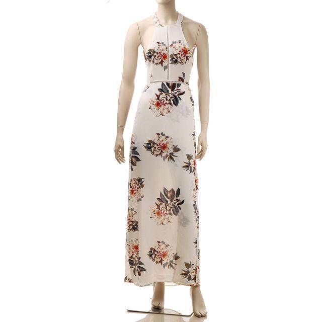 Online shop boho style long dress women off shoulder beach summer image mightylinksfo