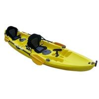 New Deluxe Padded Kayak Boat Seat Rowing Boat Soft and Antiskid Padded Base High Backrest Adjustable Kayak Cushion with Backrest