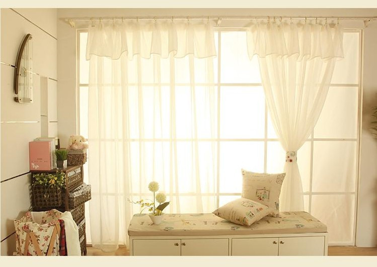 Cortinas elegantes para sala beautiful awesome sencilla for Cortinas blancas para dormitorio