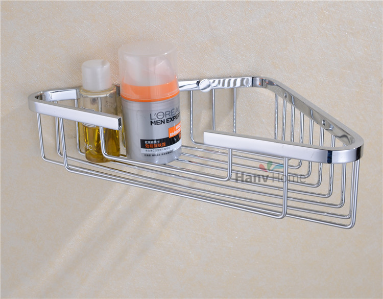 Buy Wall Mounted Stainless Steel Bathroom Shelf Bracket Shelves Basket Shower