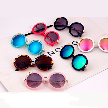 Round Mirror Kids Sunglasses