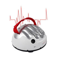 Novelty Game Interesting Electric Shocking Liar Lie Detector Game funny joke toy for Prank Fool 's Day Halloween Party