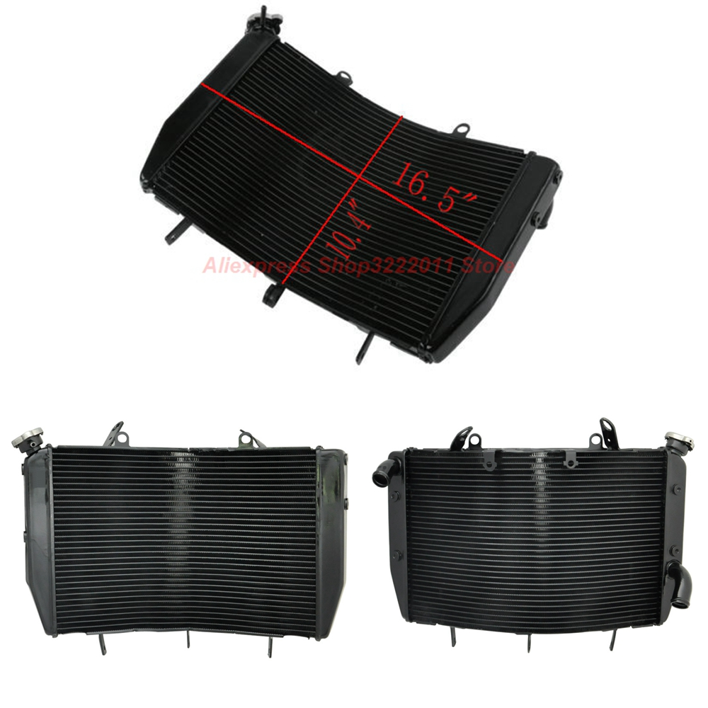 Motorcycle Radiator for YAMAHA YZF R6 2006 2007 Aluminum Water Cooler Cooling Kit clip on handlebars handle bars for yamaha 2006 2007 2008 2009 2010 yzf r6 yzf r6 motorcycle spare parts manufacturer
