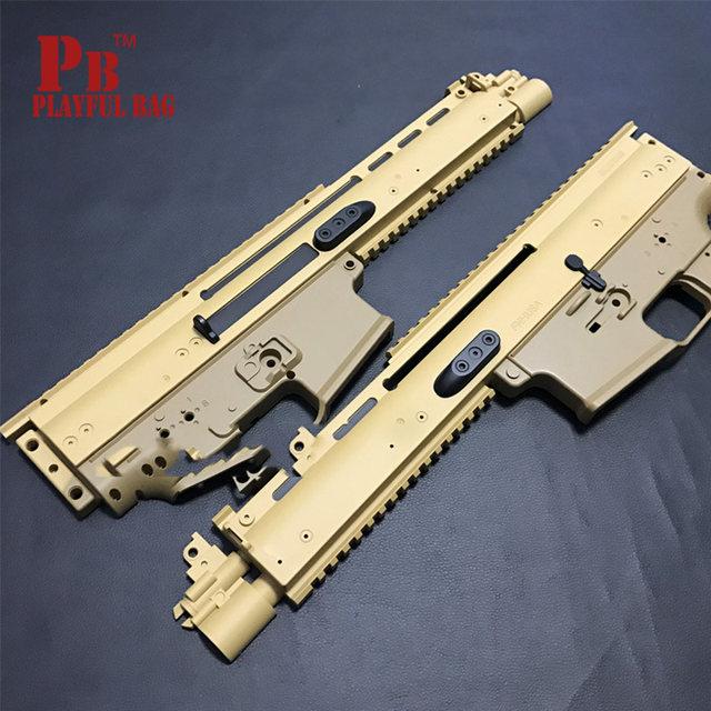 Pre-Order ETA June 2018 FN Herstal Licensed SCAR-L Airsoft AEG Rifle by