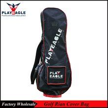 PLAYEAGLE 2017 High Quality Waterproof and Dustproof Golf Rain Cover Bag Protable Golf Travel Cover Bag in Blue/Black/Gray Color