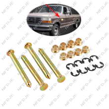 Auto Car Door Hinge Pins Pin Bushing Kit For Ford F150 F250 F350 Bronco Mustang Truck SUV Vehicle Repair Tools Parts