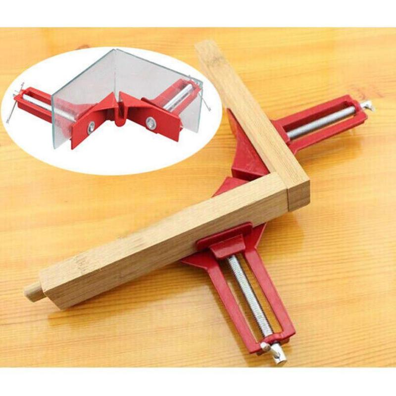 Multifunction 4inch 90 degree Right Angle Clip Picture Frame Corner Clamp 100mm Mitre Clamps Corner Holder Woodworking Hand Tool hq heavy duty 90 degree abs plastic right angle clamp picture frame clip corner holder woodworking hand tool