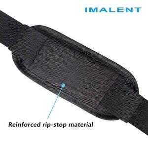 Image 3 - Imalent 2019 מקורי חדש חם Fashional חיצוני שקית מזדמן כתף שקיות עבור MS12/DX80/R90C/R70C פנס accessoriy תיק