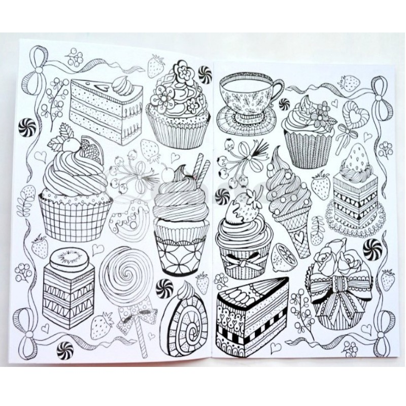 Contemporáneo Precioso Libro Para Colorear Regalo - Dibujos Para ...