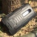 Para moto x play defender armor hybird cinturón clip de la cubierta del soporte para motorola moto g4 plus x estilo caja del silicio g4 anti golpe caso