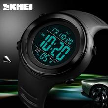 Skmei luxo digital relógios dos homens esportes crono despertador contagem regressiva militar à prova dmilitary água masculino relógio de pulso relogio masculino