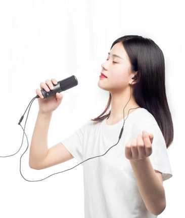 Originele Xiaomi Mijia JUNLIN digitale microfoon HD ruisonderdrukking Real-time oor terugkeer Professionele HIFI Veel compatibel