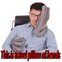 High Quality Palm Car Travel Pillow Neck Pillow to Ease Fatigue Auto Headrest Lumbar Support For Car Office Home Chair