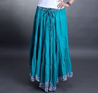 2014 Summer Long Skirt Women S National Trend Pleated Skirt Irregular Bust Skirt Bohemia Maxi Skirt