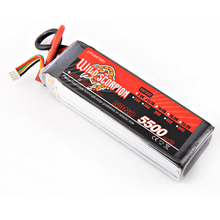 1pcs Wild scorpion RC 11.1V 5500mAh 35C Lipo Battery For RC Quadcopter Drone Helicopter Car Airplane