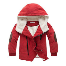2019 Autumn Winter Boys Jacket for Boys Children Clothing Hooded Outerwear Baby Boy Clothes  4 5 6 7 8 9 10 11 12 Year