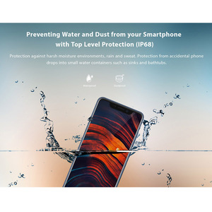 "Image 2 - 2018 Original ZTE Axon 9 pro 4G LTE IP68 Waterproof 6.21"" 8GB 256GB Snapdragon 845 Octa core NFC 4000mAh Fingerprint 20MP Hi Fi"