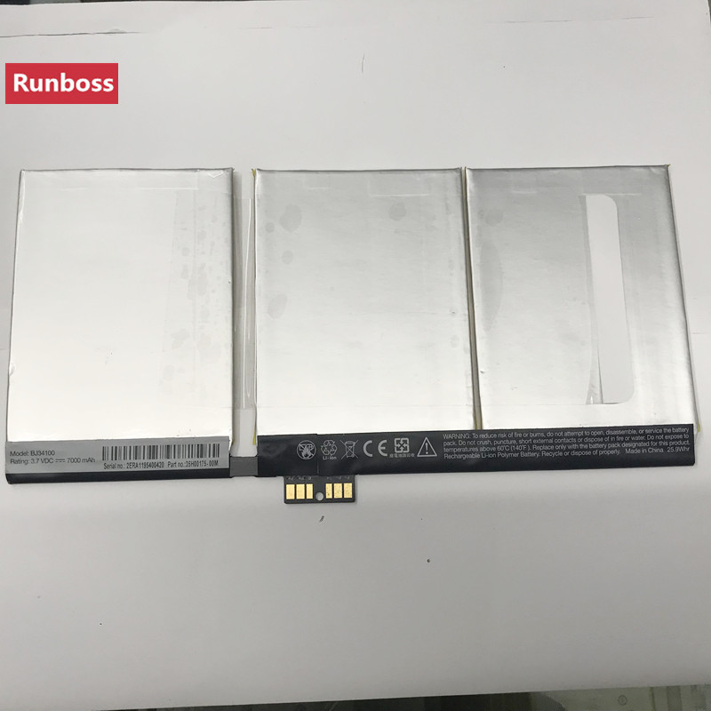 Runboss 7000mAh Original Quality Battery BJ34100 for HTC 35H00175-00MRunboss 7000mAh Original Quality Battery BJ34100 for HTC 35H00175-00M