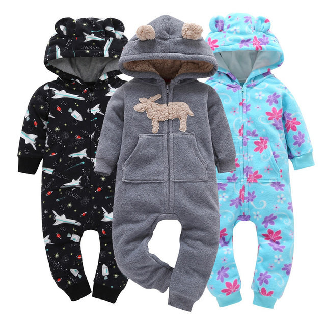 473b1546e84d 2018 Newborn Bebes Clothing Long Sleeve Rompers Winter Baby and ...
